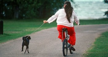 _91032084_z9320370-woman_exercising_her_dog-spl