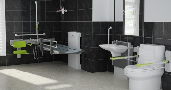 clos-o-mat accessible bathroom render